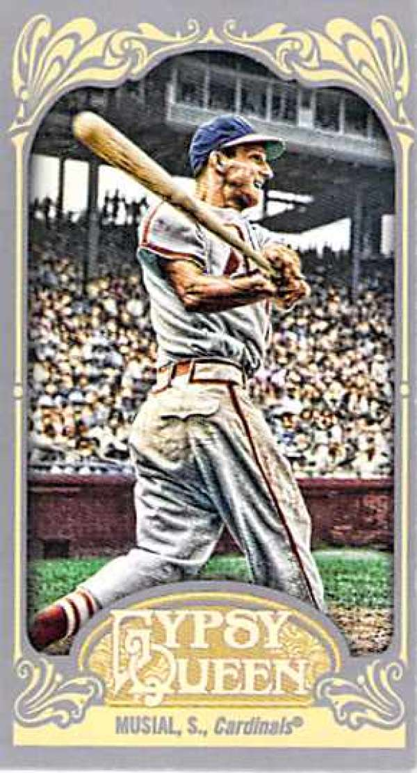 2012 Topps Gypsy Queen Mini #249 Stan Musial NM-MT Cardinals