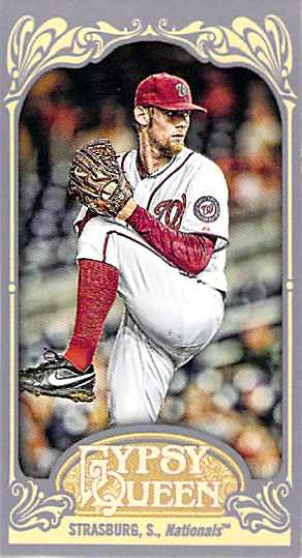2012 Topps Gypsy Queen Mini #184A Stephen Strasburg NM-MT Nationals