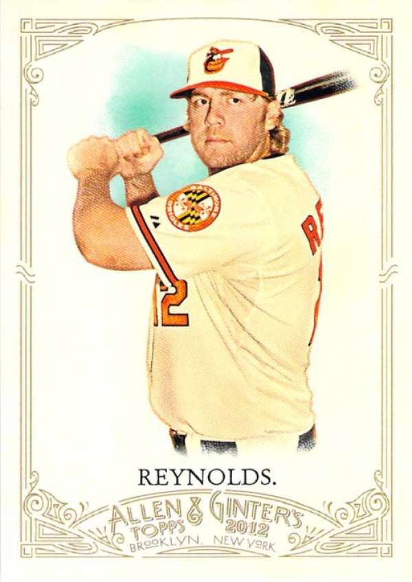 2012 Topps Allen and Ginter #271 Mark Reynolds NM-MT Orioles