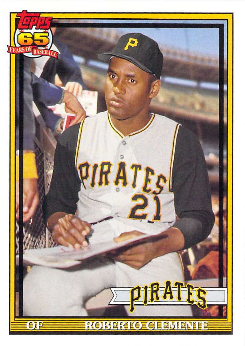 Baseball card singles