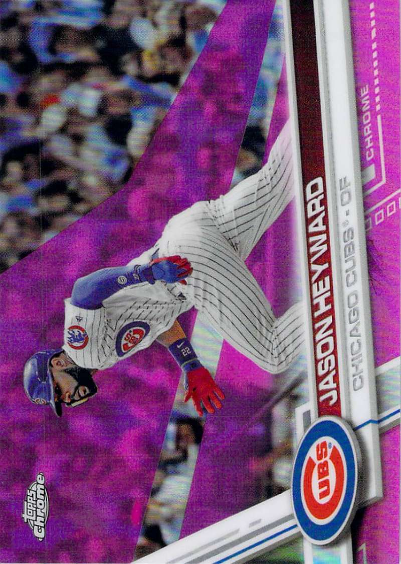 2017 Topps Chrome Pink Refractor #115 Jason Heyward NM-MT