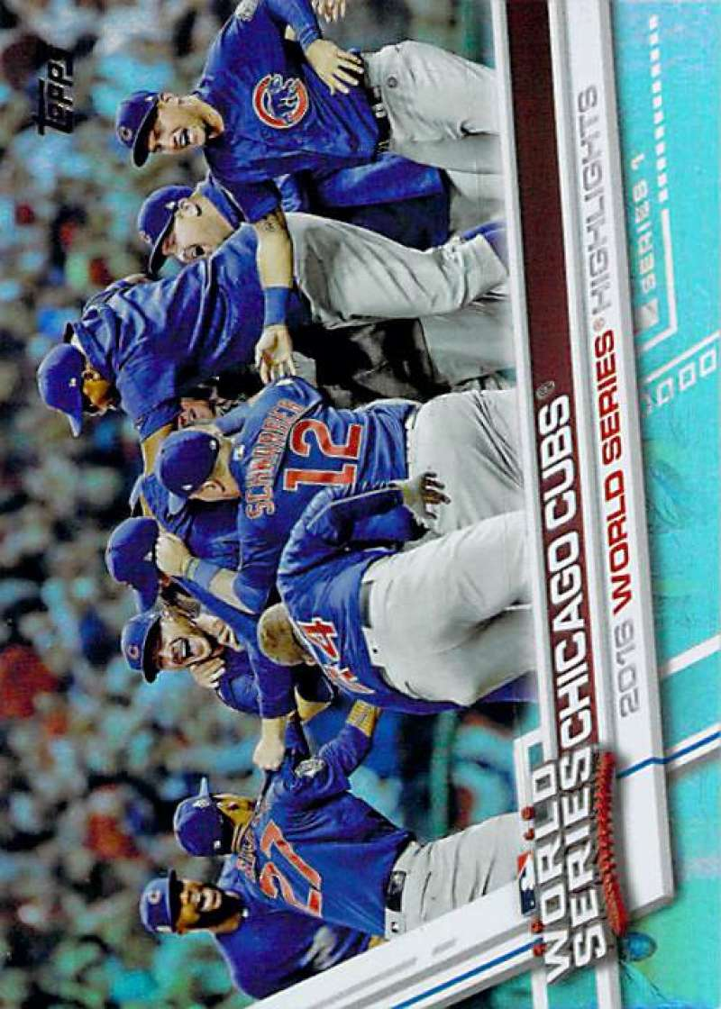 2017 Topps Rainbow Foil #206 Chicago Cubs NM-MT