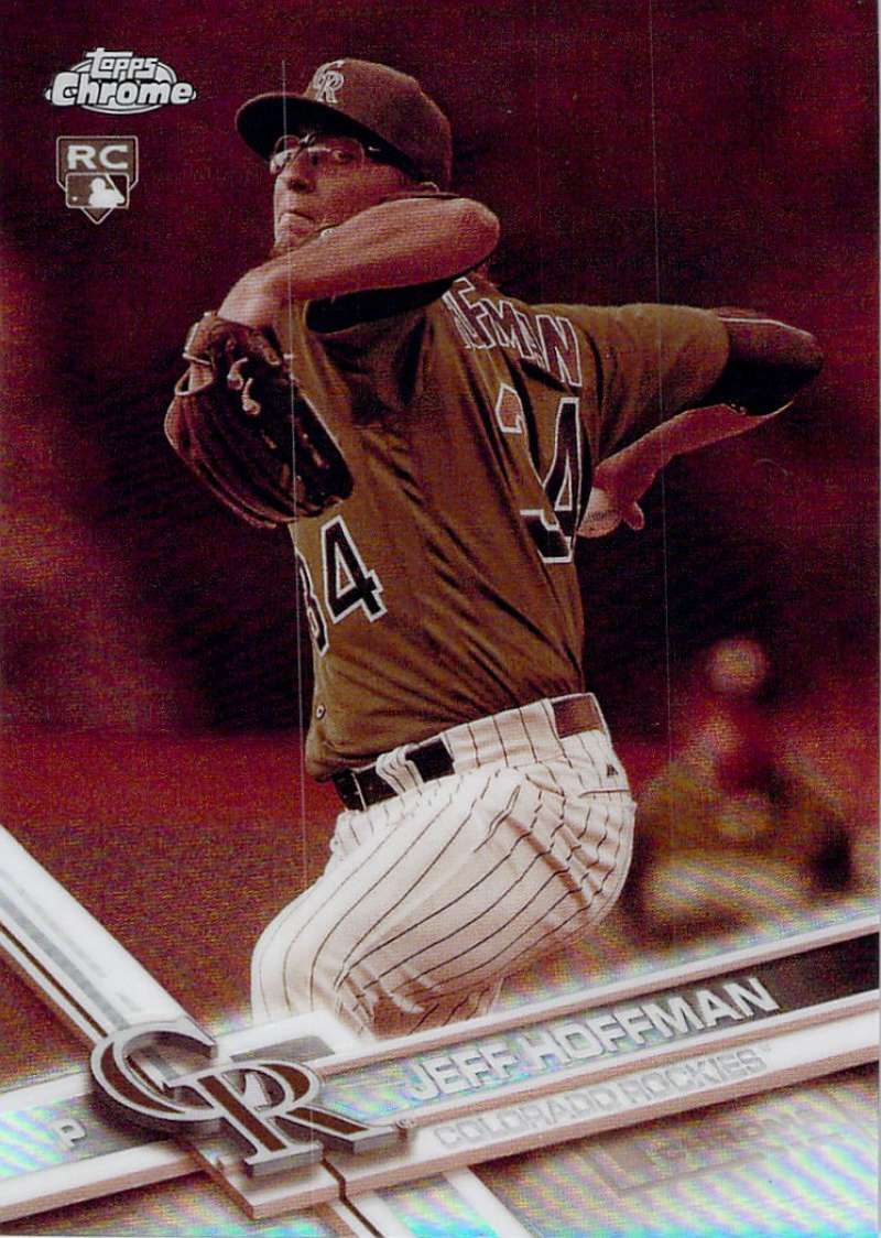 2017 Topps Chrome Sepia Refractor #70 Jeff Hoffman NM-MT