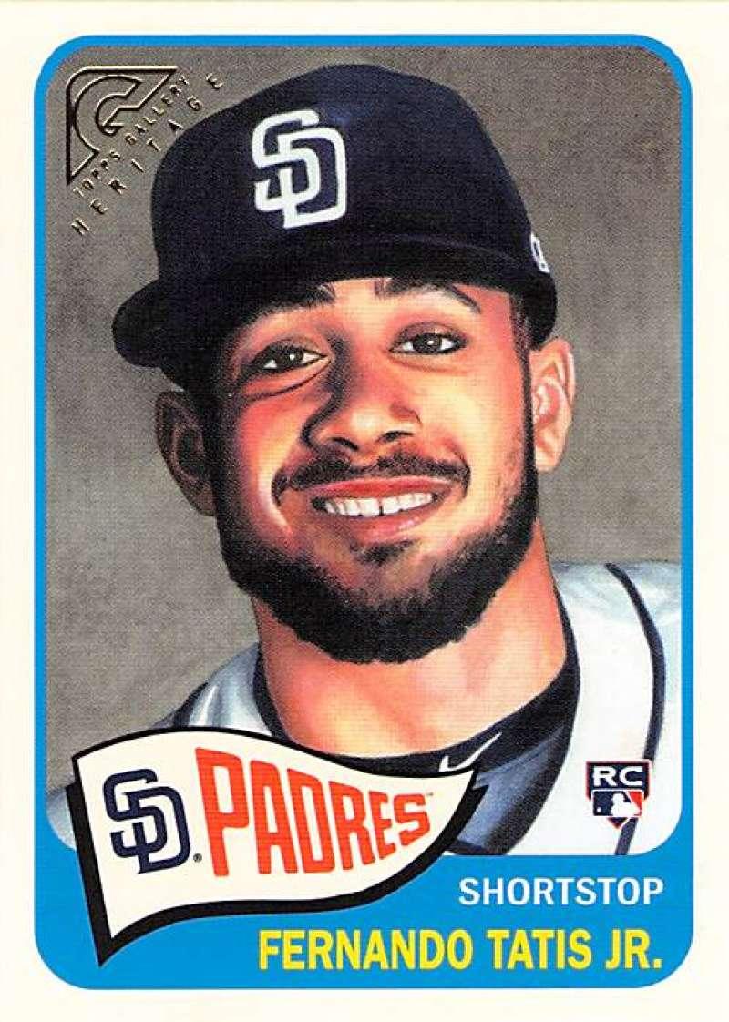 2019 Topps Gallery Heritage #HT-38 Fernando Tatis Jr. NM-MT San Diego Padres