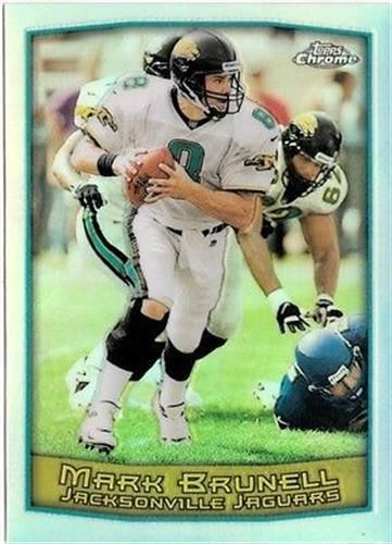 1999 Topps Chrome Refractor #11 Mark Brunell NM-MT Jaguars