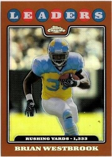 2008 Topps Chrome Copper Refractor #TC126 Brian Westbrook NM-MT /425 Eagles