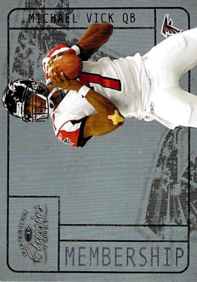 2004 Donruss Classics Membership #M19 Michael Vick NM-MT /1000 Falcons
