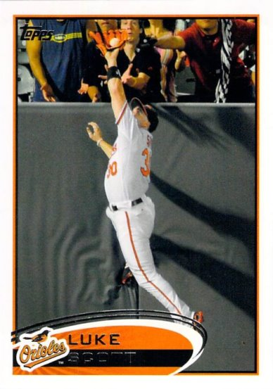 2012 Topps #107 Luke Scott NM-MT Orioles
