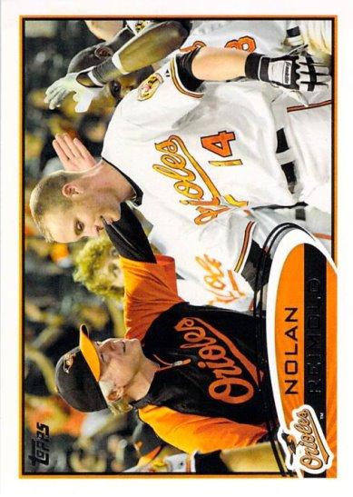 2012 Topps #176 Nolan Reimold NM-MT Orioles