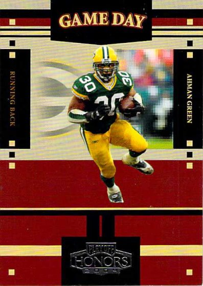 2004 Playoff Honors Game Day #GS1 Ahman Green NM-MT /1750 Packers
