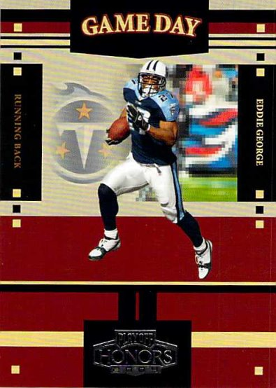 2004 Playoff Honors Game Day #GS7 Eddie George NM-MT /1750 Titans