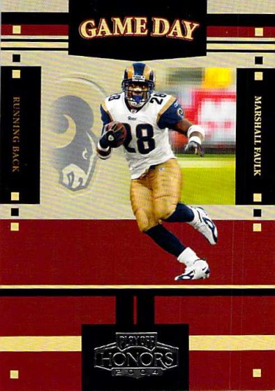 2004 Playoff Honors Game Day #GS15 Marshall Faulk NM-MT /1750 Rams