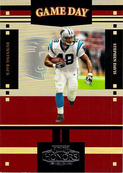 2004 Playoff Honors Game Day #GS22 Stephen Davis NM-MT /1750 Panthers