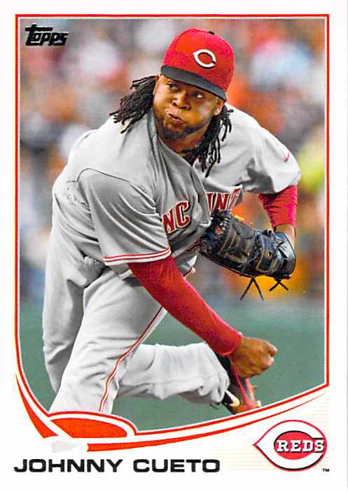 2013 Topps #275 Johnny Cueto NM-MT Reds