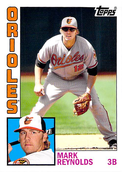 2012 Topps Archives #199 Mark Reynolds NM-MT Orioles