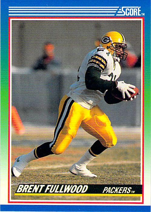 1990 Score #6 Brent Fullwood NM-MT Packers