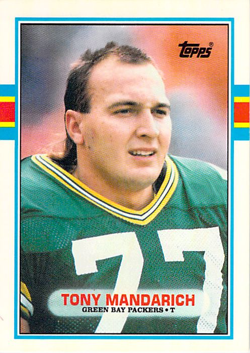 1989 Topps Traded #2T Tony Mandarich NM-MT RC Rookie Packers