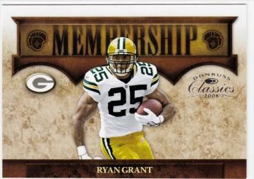 2008 Donruss Classics Membership #11 Ryan Grant NM-MT /1000 Packers