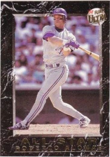1992 Ultra All-Stars #2 Roberto Alomar NM-MT Blue Jays