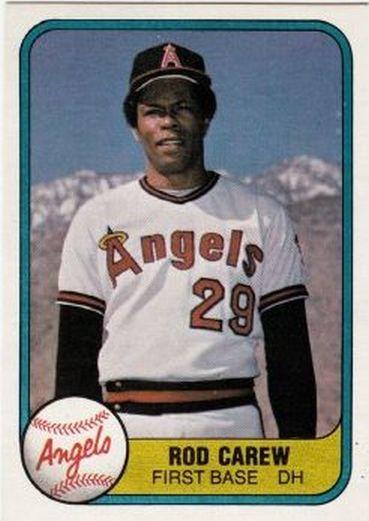 1981 Fleer #268 Rod Carew NM-MT Angels