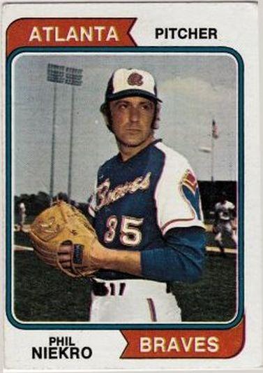 1974 Topps #29 Phil Niekro NM-MT Braves