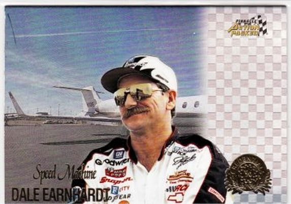 1996 Action Packed Credentials Speed Machine #3 Dale Earnhardt NM-MT