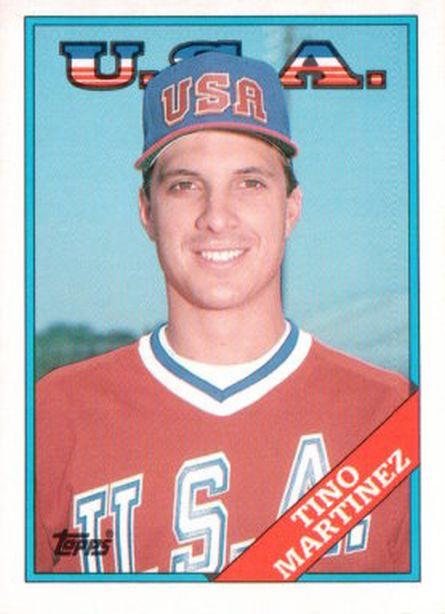 1988 Topps Traded #66T Tino Martinez NM-MT Mariners