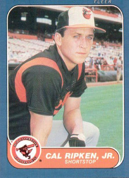 1986 Fleer #284 Cal Ripken NM-MT Orioles