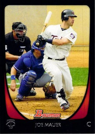 2011 Bowman #35 Joe Mauer NM-MT Twins