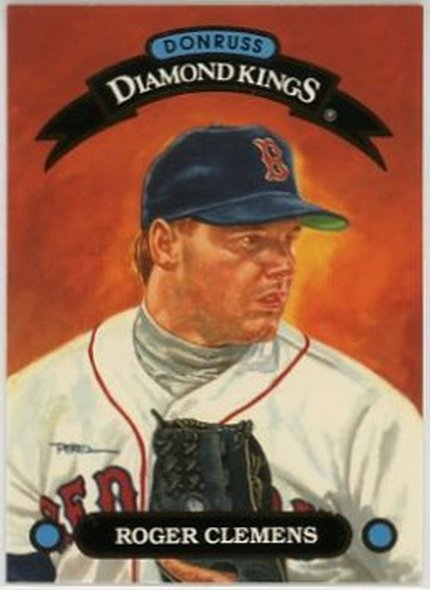 1993 Donruss Diamond Kings #DK3 Roger Clemens NM-MT Red Sox