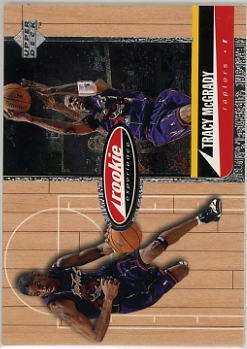1998 Upper Deck Hardcourt #78 Tracy McGrady NM-MT Rapters