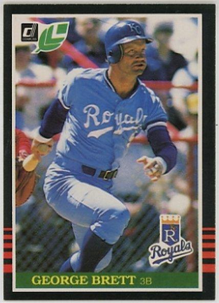 1985 Leaf/Donruss #176 George Brett NM-MT Royals