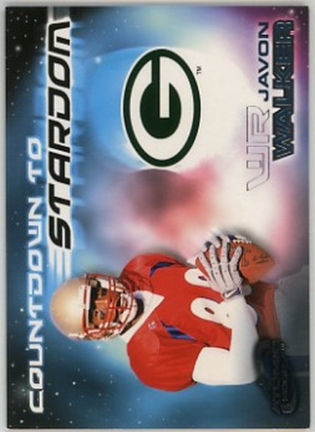2002 Atomic Countdown To Stardom #10 Javon Walker NM-MT Packers
