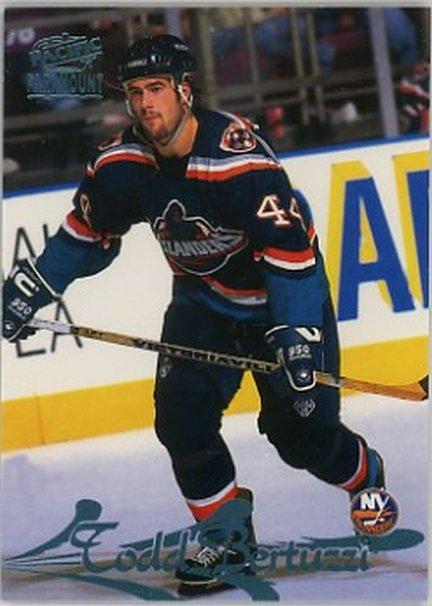 1997-98 Paramount Ice Blue #107 Todd Bertuzzi NM-MT NY Islanders