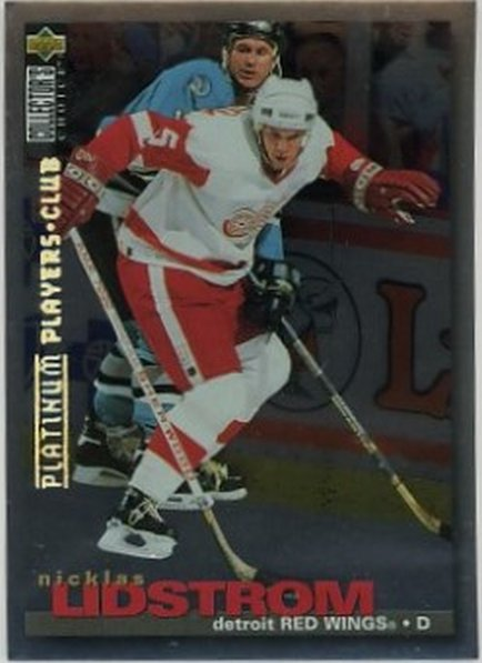 1996 Collector's Choice Player's Club Platinum #228 Nicklas Lidstrom NM-MT Red Wings
