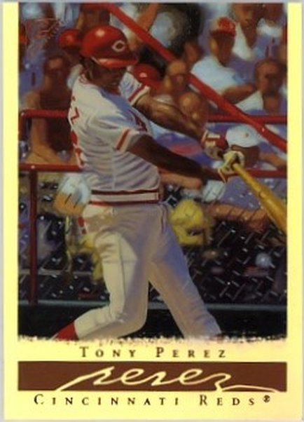 2003 Topps Gallery HOF Artist's Proofs #57 Tony Perez NM-MT Reds