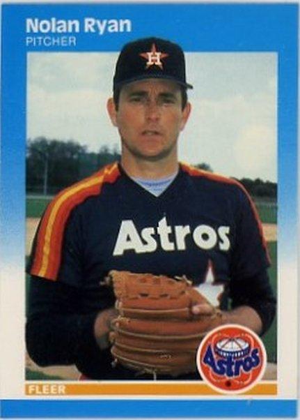 1987 Fleer #67 Nolan Ryan NM-MT Astros