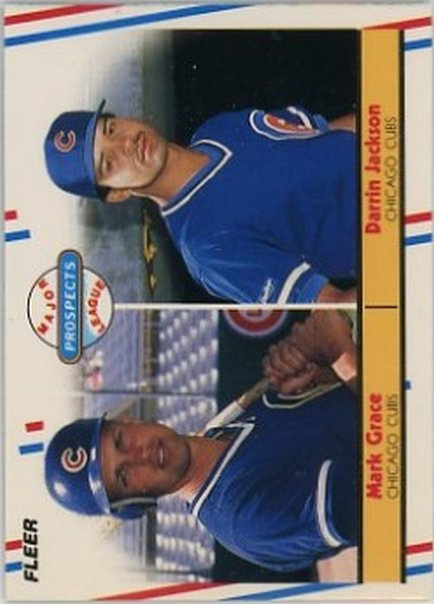 1988 Fleer #641 Mark Grace NM-MT RC Rookie Cubs