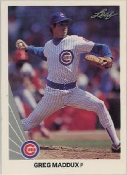 1990 Leaf #25 Greg Maddux NM-MT Cubs