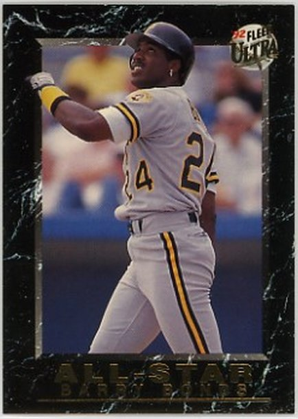 1992 Ultra All-Stars #16 Barry Bonds NM-MT Pirates
