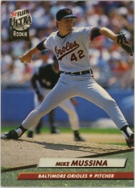 1992 Ultra #9 Mike Mussina NM-MT Orioles