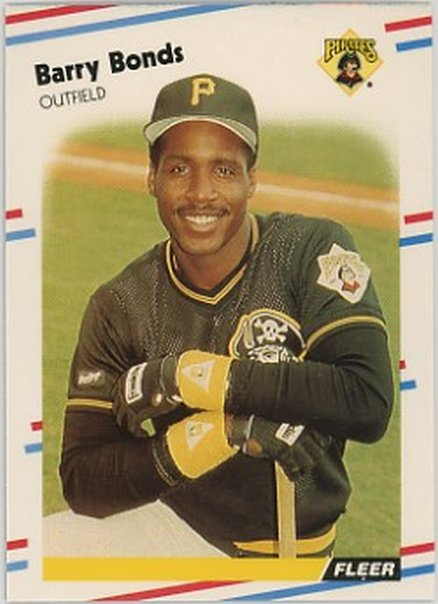 1988 Fleer #322 Barry Bonds NM-MT Pirates