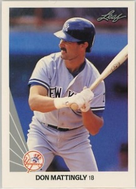 1990 Leaf #69 Don Mattingly NM-MT Yankees