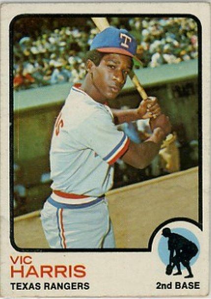 1973 Topps #594 Vic Harris NM-MT RC Rookie Rangers