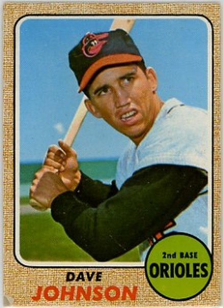 1968 Topps #273 Dave Johnson EX Orioles