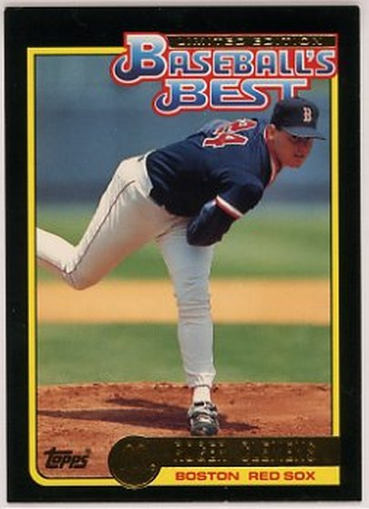 1992 Topps McDonald's #10 Roger Clemens NM-MT Red Sox