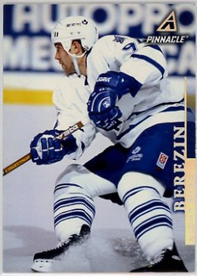 1997-98 Pinnacle #162 Sergei Berezin NM-MT Maple Leafs
