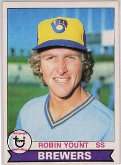 1979 Topps #95 Robin Yount NM-MT Brewers