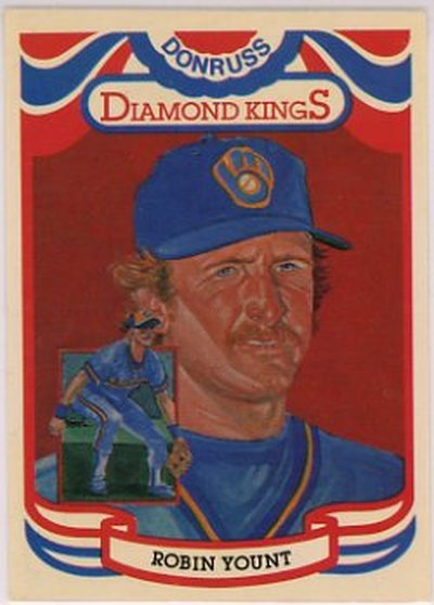 1984 Donruss #1 Robin Yount NM-MT Brewers