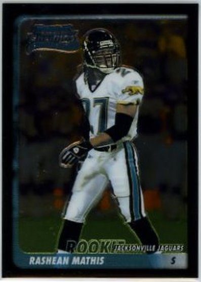 2003 Bowman Chrome #120 Rashean Mathis NM-MT RC Rookie Jaguars